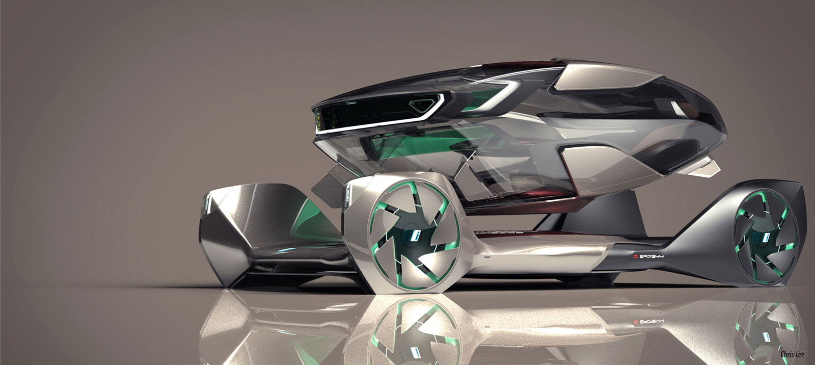 Bmw Iq Concept By Chris Lee Rendering Car Body Design