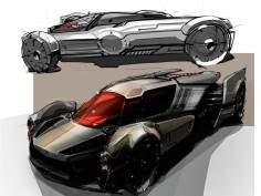 Design sketches: Star Wars-inspired vehicles