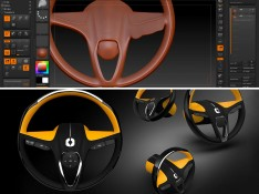 Steering-Wheel-ZBrush-3D-Modeling-Tutorial