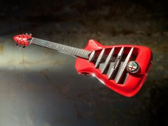 UK company creates the Alfa Romeo-inspired £4,000 guitar