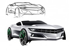 Camaro Concept Digital Rendering Tutorial