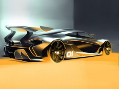 McLaren previews P1 GTR design concept ahead of Pebble Beach debut