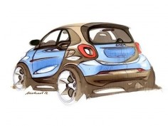 Smart previews next-gen ForTwo with design sketches