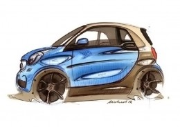 New Smart ForTwo - Design Sketch