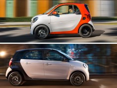 New Smart fortwo and forfour: image gallery