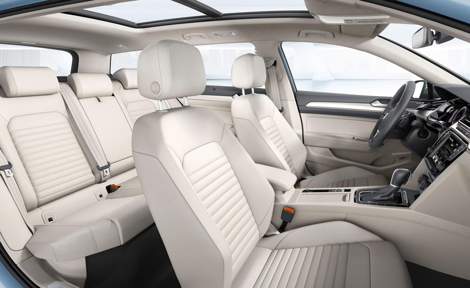 New Volkswagen Passat Interior