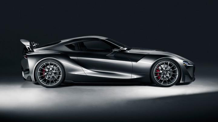 Toyota ft 1 Graphite Concept