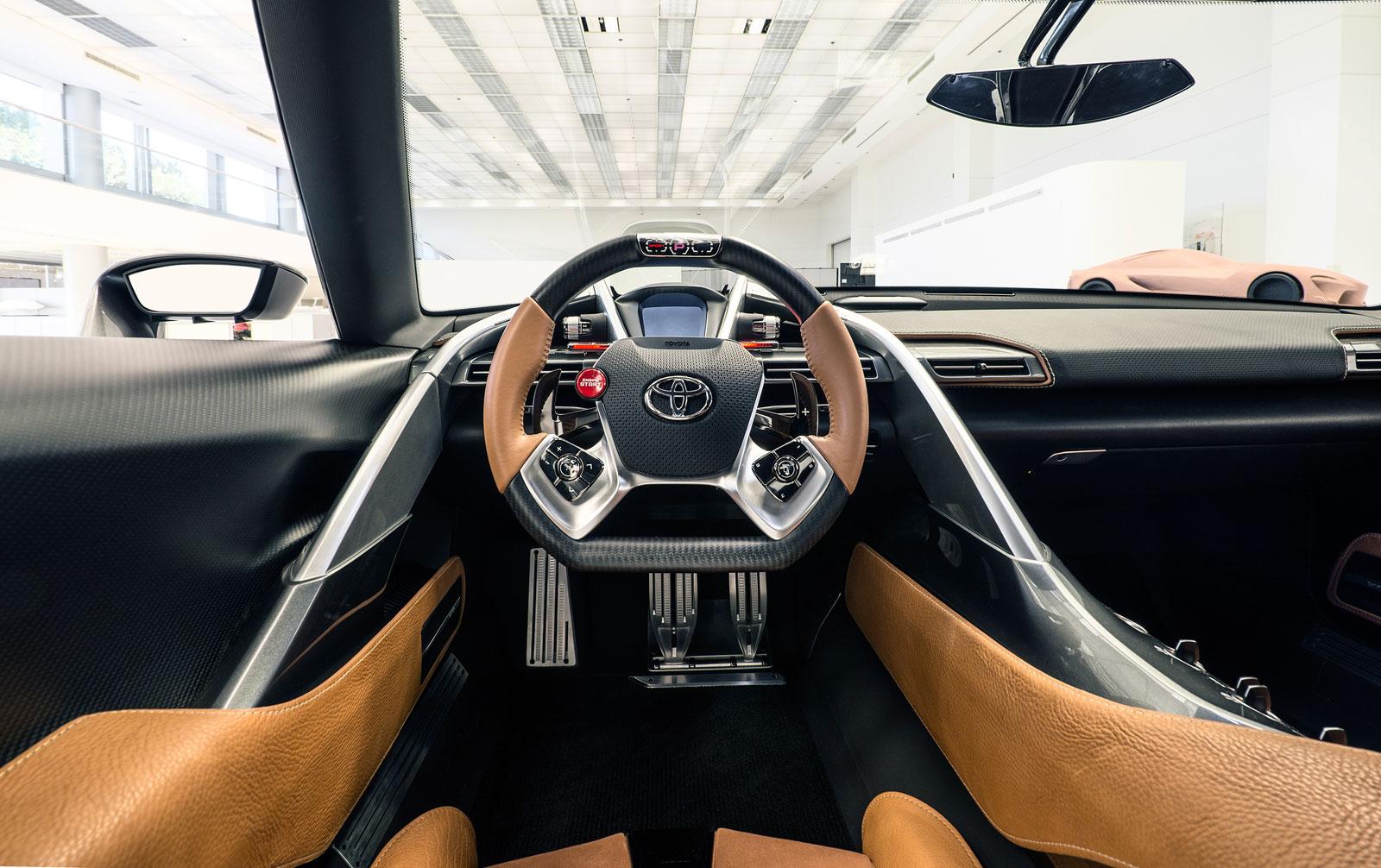 Toyota FT 1 Graphite Concept Interior