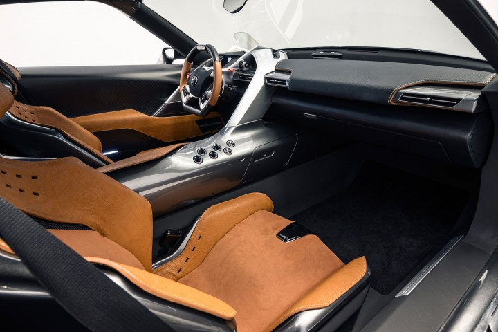 Toyota FT 1 Graphite Concept Interior. U201c