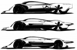 Mercedes-Benz Le Mans 2040 Concept   Design Sketch by Minb Yung Yoon