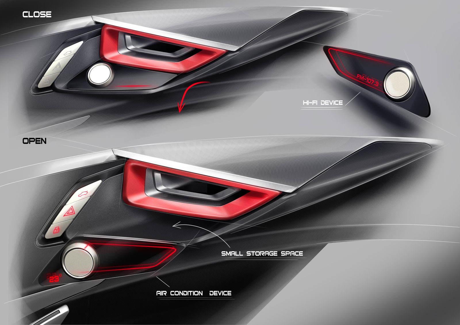 spd concept car interior design sketches car body design. Black Bedroom Furniture Sets. Home Design Ideas