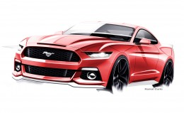 2015 Ford Mustang - Final Design Sketch
