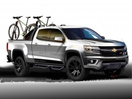 2014 Chevrolet Colorado Sport Concept Design Sketch