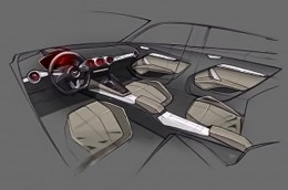 Audi TT Sportback Leaked Interior Design Sketch