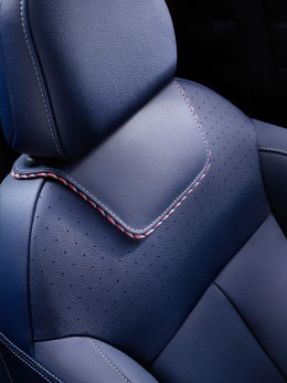 Citroen DS 3 Ines de La Fressange Paris Concept Interior - Seat leather detail