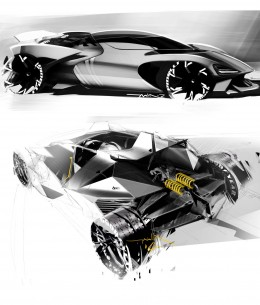 Concept Design Sketches by Thomas Stephen Smith
