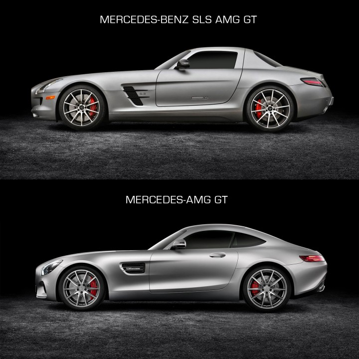 The New Mercedes Amg Gt Car Body Design