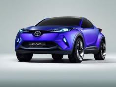 Toyota C-HR Concept: first images