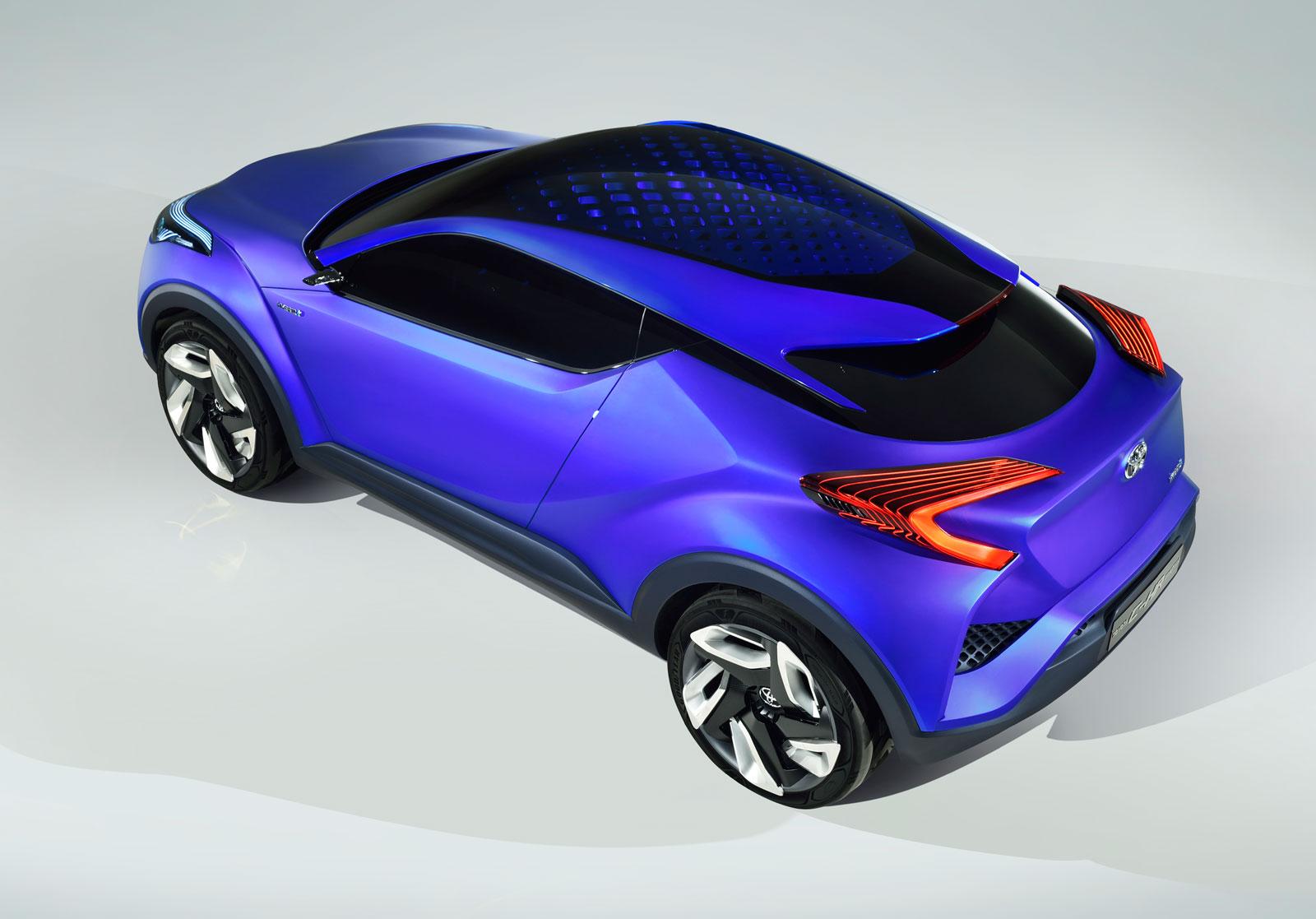 toyota c hr concept first images car body design. Black Bedroom Furniture Sets. Home Design Ideas