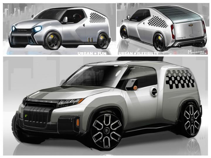 Toyota U2 Concept Car Body Design