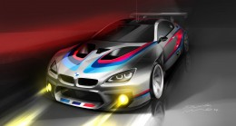 BMW M6 GT3 - Design Sketch