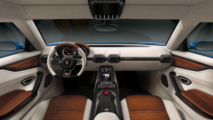 Lamborghini Asterion LPI 910-4 Interior