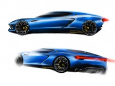 Filippo Perini on the design of the Lamborghini Asterion