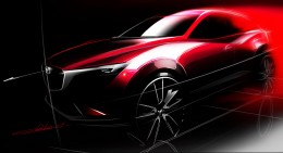 Mazda CX-3 - Design Sketch