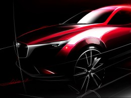 Mazda CX-3 - Design Sketch detail