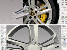 Modeling-a-Lamborghini-Wheel-in-Alias-Surface