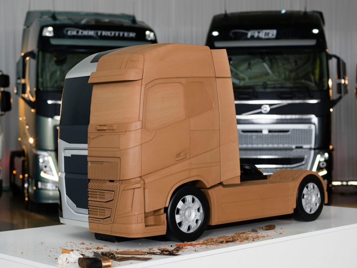 Volvo Trucks Design - Clay Model