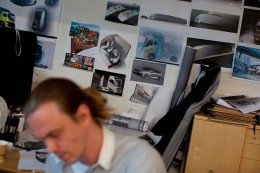 Volvo Trucks Design - Sketch wall