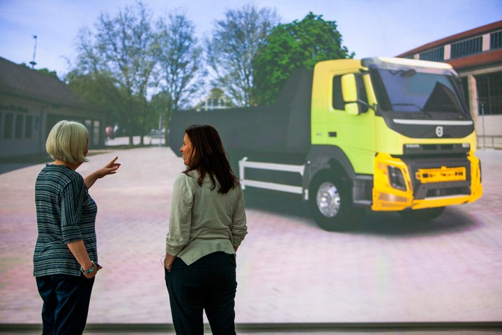 Volvo Trucks Design - Virtual Reality 3D visualizations