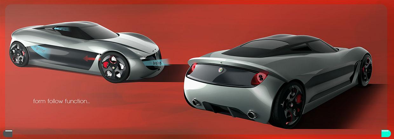 Zagato Alfa Romeo Division 2019 Concept by Marco De Toma - Car Body ...