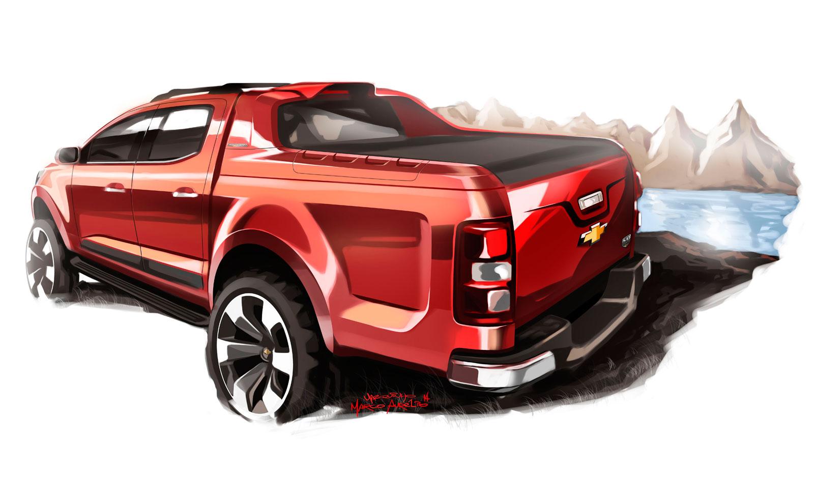 Chevrolet S10 High Country Concept - Design Sketch-03 ...