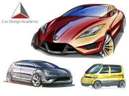 Car Design Academy - Car Design Sketches
