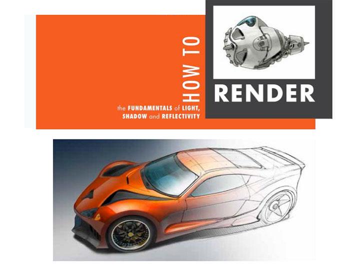 scott robertson presents   render book car body