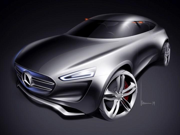 Mercedes-Benz Vision G-Code Concept - Car Body Design