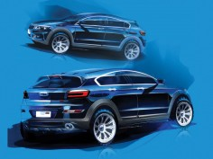 Qoros previews new compact SUV