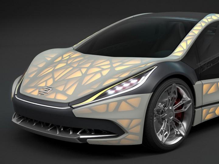 edag light cocoon concept preview car body design. Black Bedroom Furniture Sets. Home Design Ideas