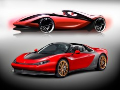 Ferrari Sergio: first car delivered