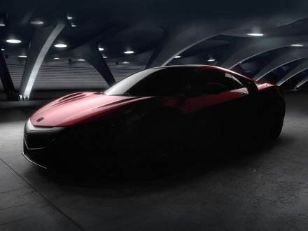 Production Honda/Acura NSX previewed ahead of Detroit debut