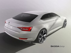 Škoda previews the new Superb