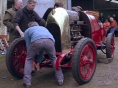 The Beast of Turin: watch a 28-liter engine fired up after 100 years