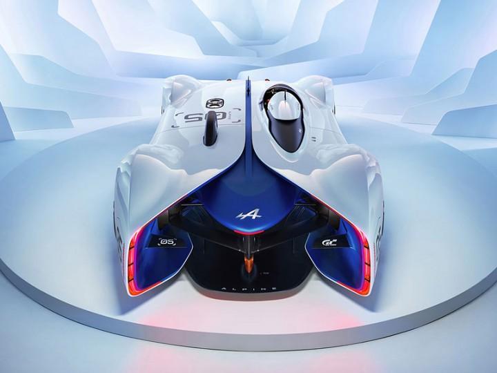 Alpine Vision Gran Turismo Concept Revealed Car Body Design