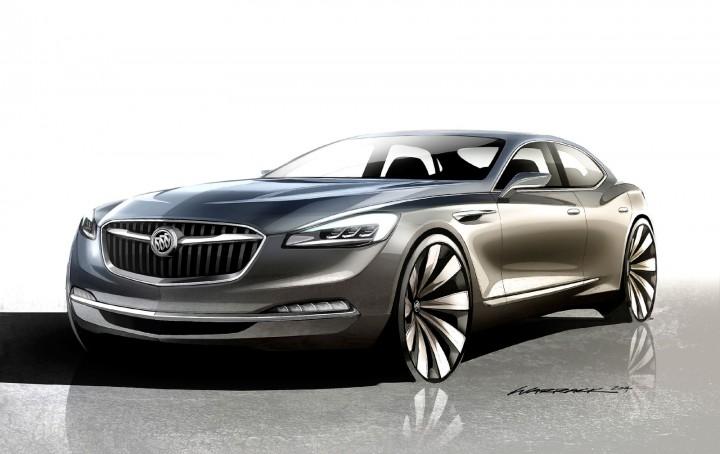 Buick Avenir Concept - Car Body Design