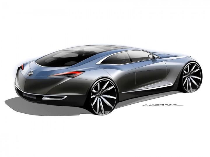 Buick Avenir Concept Car Body Design