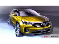 GAC teases GS4 SUV with design sketches
