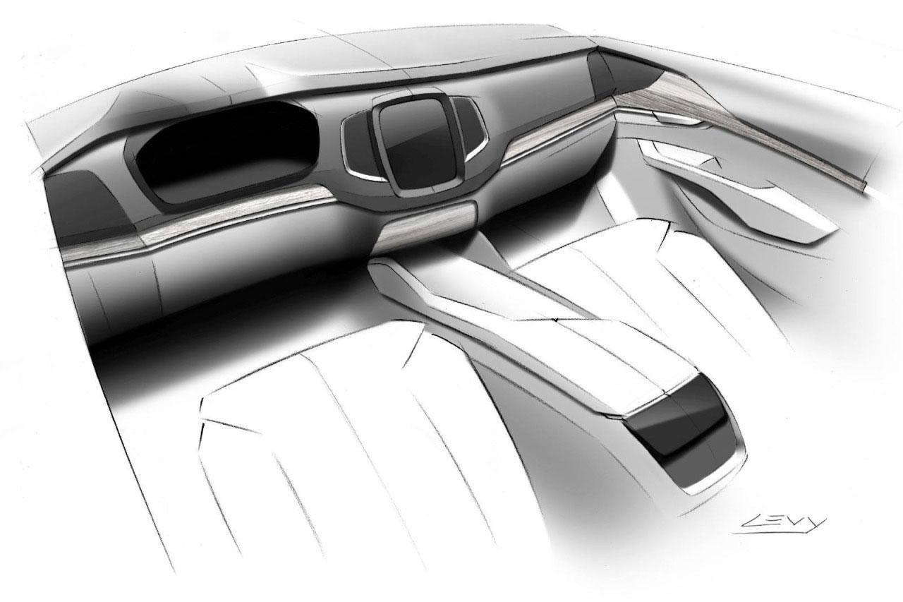 volvo xc 90 interior design sketch car body design. Black Bedroom Furniture Sets. Home Design Ideas