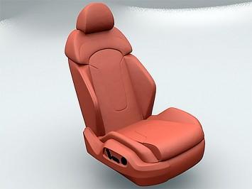 Audi R Seat Free D Model Car Body Design - Audi car seat